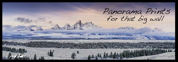Fine Art Panorama Landscapes by Daryl L. Hunter