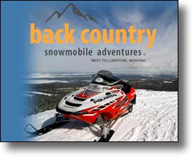 Backcountry snowmobile Adventures