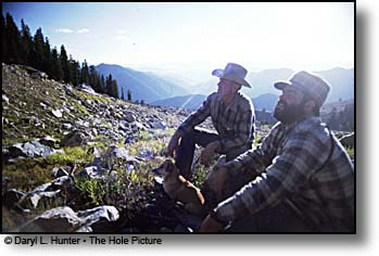 Hunters Gros Ventre Wilderness, Jackson Hole WY