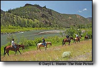trail ride yellowstone