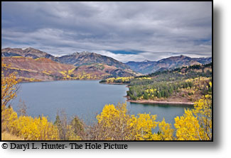 Palisades reservior, autumn, Swan Valley, Idaho